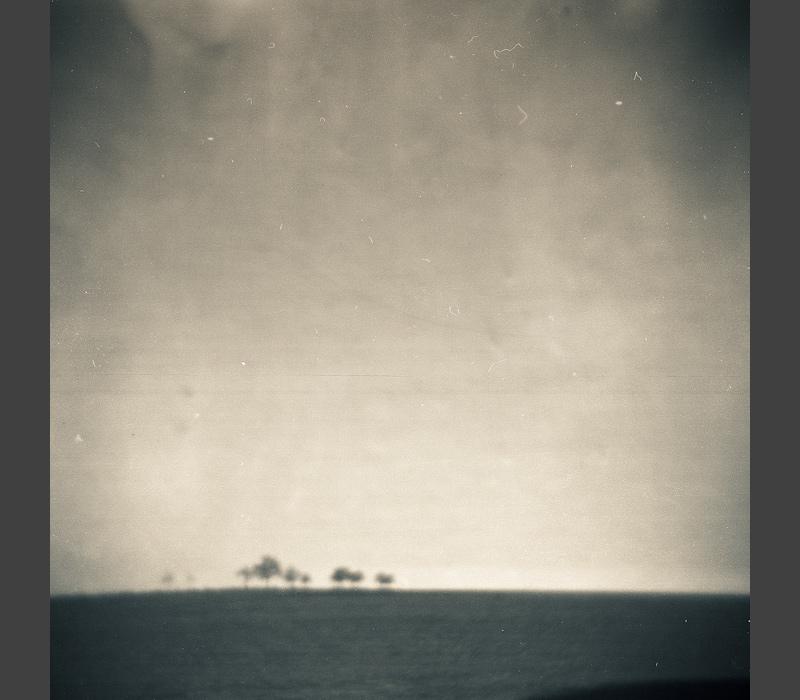 holga minimalistic landscape unsharp