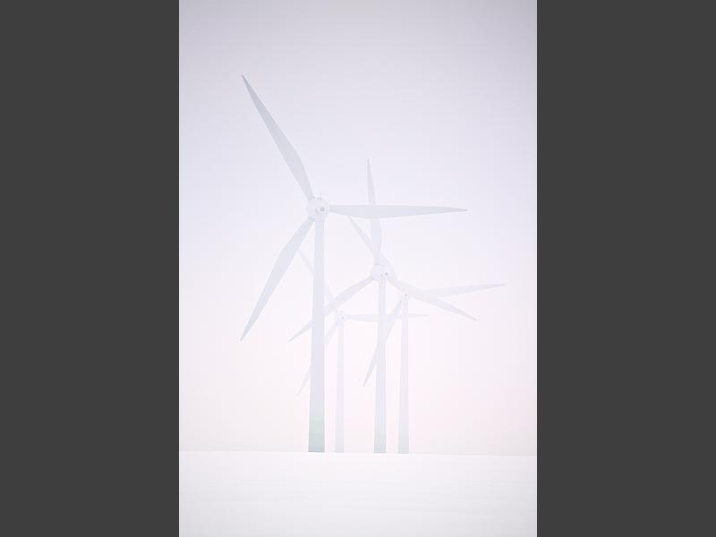 wind winter snow white feldauge turbine generator