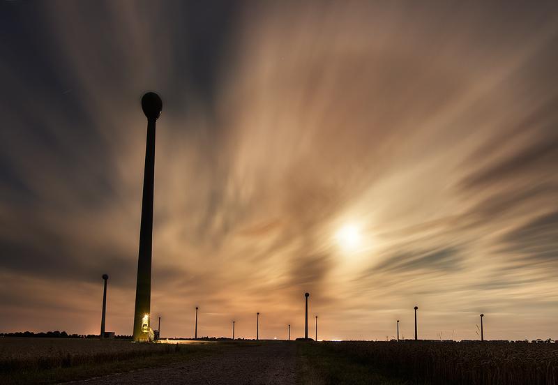 moon light wind night long exposure feldauge reussen