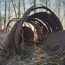carcass feldauge domnitz sunset spring metall