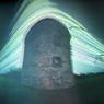 solargraph tower ruin sun feldauge schafstedt