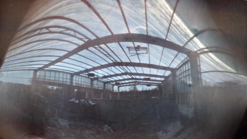 solargraph solargraphie solargraphy feldauge abandoned ruin saalekreis
