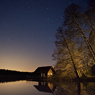 NIGHT long_exposure döllnsee schorfheide feldauge reflection